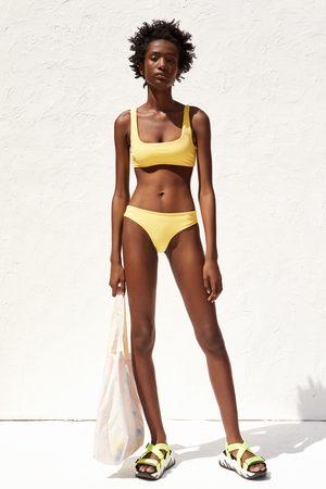 Zara Slip bikini tie dye recycled capsule collection