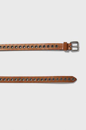 Zara Uomo Cinture - Cintura cerchi metallici