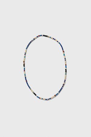 Zara Uomo Collane - Collana palline blu