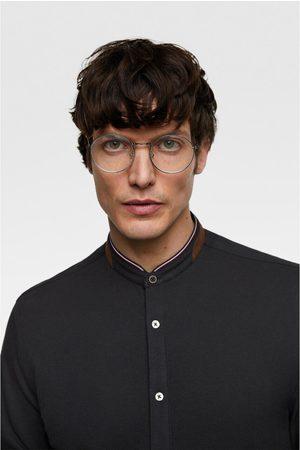 Zara Uomo Camicie - Camicia piqué toppe sui gomiti