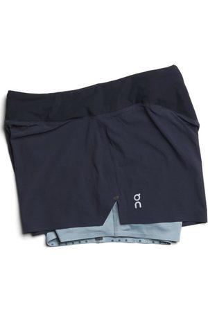 ON Donna Pantaloncini - Running Shorts - pantalcini running - dna. Taglia XS