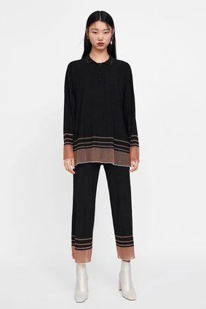 Zara Polo oversize a righe