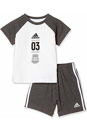 adidas I Logo Sum Set – Set Unisex Bambini, Unisex Bambini, DV1237_104, Multicolore , 104