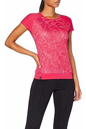 Salewa Pedroc Print Dry W S/S Tee, T-Shirt Donna, , 44/38