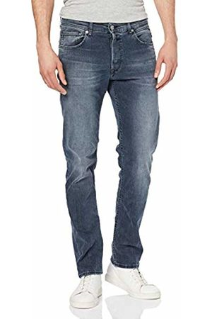 Replay Grover, Jeans Straight Uomo, Blu , W33/L32