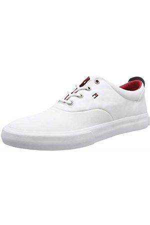 Tommy Hilfiger Core Thick Textile Sneaker Scarpe da Ginnastica Basse Uomo, Bianco 42 EU
