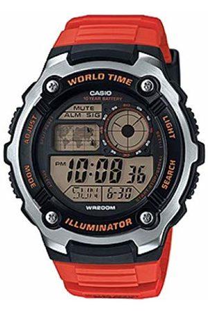 Casio Orologio Digitale Quarzo Uomo con Cinturino in Resina AE-2100W-4AVEF