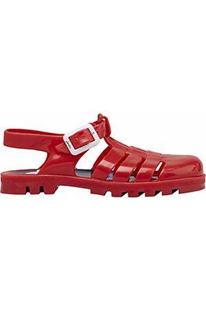 Joules Jelly Shoe, Sandali a Punta Chiusa Bambino, Rosso Red, 34 EU