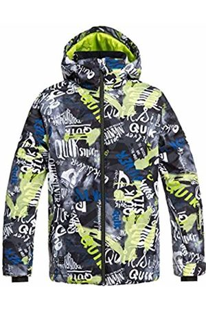 Quiksilver Mission Printed Youth, Snow Jacket Bambino, , 14/XL