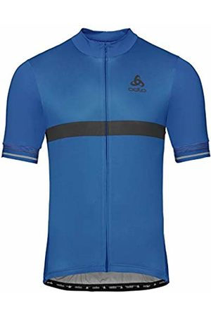 Odlo Stand Up Collar S/S Full Zip Fujin Ceram Felpa Uomo, L