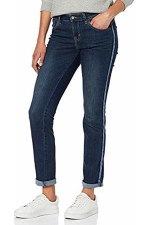 Tom Tailor Casual Gewaschene Jeans, Denim Im Slim Fit Alexa, Donna, Blu , W34/L32
