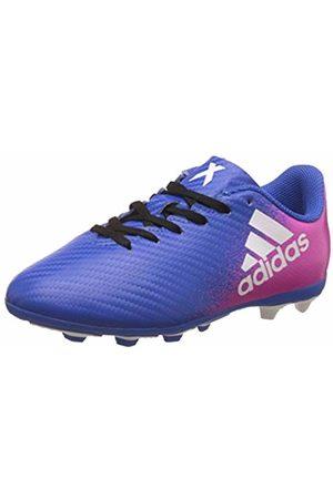 adidas X 16.4 Fxg J Scarpe per allenamento calcio Unisex – Bambini, Blu , 36 2/3 EU