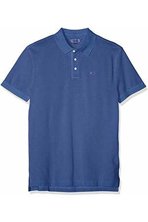 Tommy Hilfiger Tjm Essential Garment Dye Polo, Uomo, Blau , M