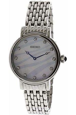 Seiko SFQ807P1 - Orologio da polso Donna, Acciaio inox, colore: Argento