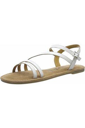 Tamaris 1-1-28113-22, Sandali con Cinturino alla Caviglia Donna, Bianco , 36 EU
