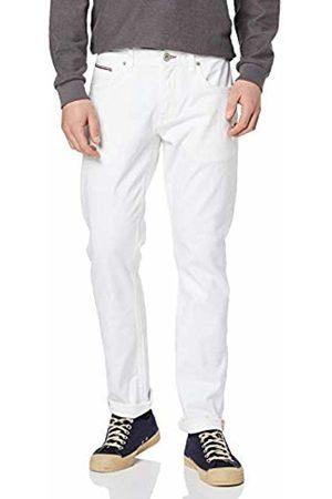 Tommy Hilfiger Straight Denton STR Chadon White, Jeans Uomo, Blu 911, W32/L32