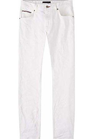 Tommy Hilfiger Straight Denton STR Chadon White Jeans Uomo, Blu 911, W31/L34