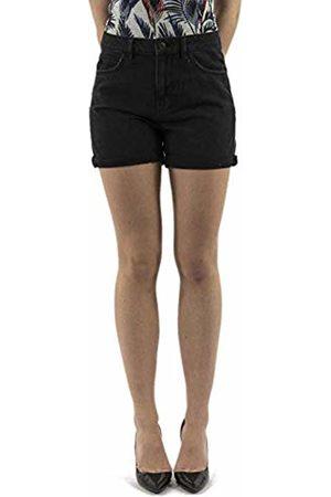 Vero Moda NOS Vmnineteen HR Loose Shorts Mix Noos, Pantaloncini Donna, Nero Black), 42