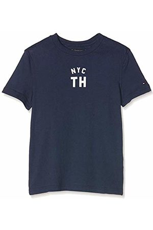 Tommy Hilfiger NY Graphic Tee S/s T-Shirt Bambino, Blu 104
