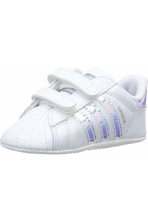 adidas Superstar Crib, Sneaker Unisex Bimbo, Bianco Ftwr White/Core Black, 19 EU