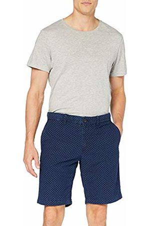 Tommy Hilfiger Brooklyn Short Mini Print Pantaloncini Uomo, Blu W36/L32