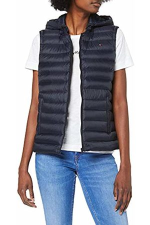 Tommy Hilfiger TH Essential LW Dwn Pack Vest Giacca Donna, Blu Large