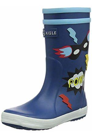 Aigle Lolly Pop Stivali di Gomma Unisex-Bambini, Blu 29 EU