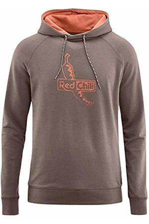 Red Chili Me Tecu - Felpa con Cappuccio da Uomo, Uomo, 300635635100, Brun , XS
