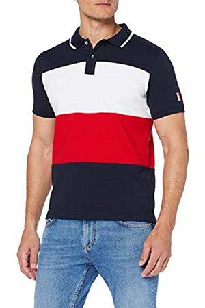 Tommy Hilfiger Icon Colorblock Slim Polo, Uomo, Multicolore , X-Large