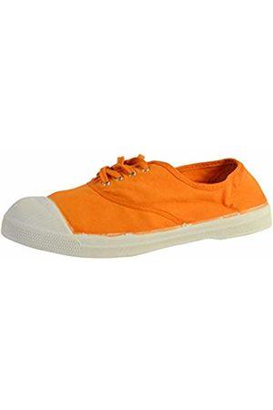 Bensimon Tennis Lacets Sneaker Donna, Arancione 37 EU