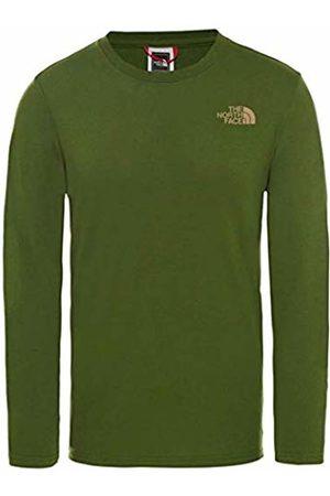 The North Face Easy Maglia a Maniche Lunghe, Uomo, Verde , L