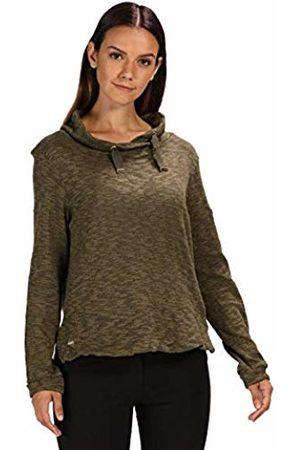 Regatta Celestia Cotton Wrap Over Neck Pullover, Pile Donna, , 18