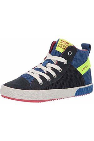 Geox J Alonisso Boy H, Sneaker a Collo Alto Bambino, , 32 EU
