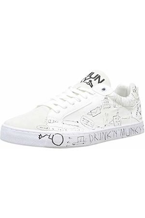 Drunknmunky New England Sneaker Uomo, Bianco 44 EU