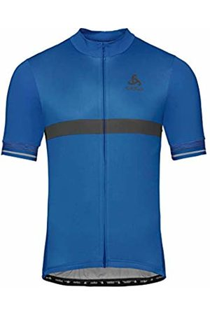 Odlo Stand Up Collar S/S Full Zip Fujin Ceram, Felpa Uomo, , M