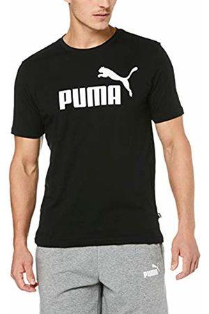 Puma Ess Logo Maglietta, Uomo, Nero Black, S