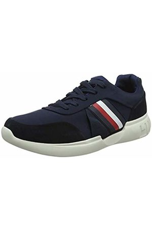 Tommy Hilfiger Lighweight Corporate Runner Scarpe da Ginnastica Basse Uomo, Blu 43 EU