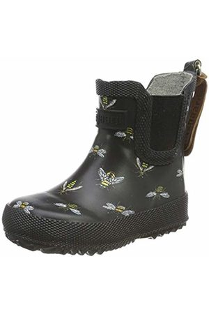 Bisgaard Rubber Boot Baby, Stivali di Gomma Unisex-Bambini, Schwarz , 25 EU