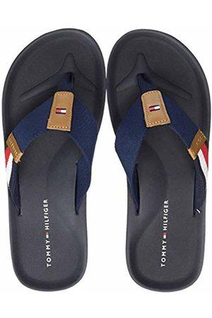 Tommy Hilfiger Corporate Stripe Beach Sandal Infradito Uomo, Blu 40 EU