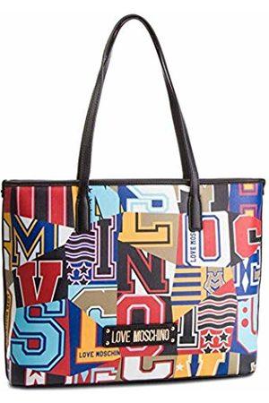 bd745245d4 Moschino Graphic Saffiano pu, Borsa Tote Donna, , 15x10x15 cm .