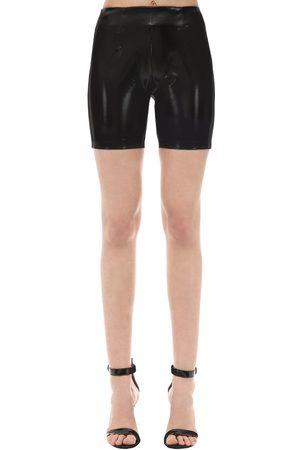 GCDS Shorts Biker In Vinile