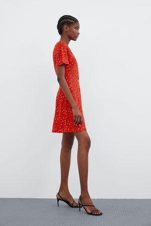 Zara Donna Vestiti - Vestito con bottoni