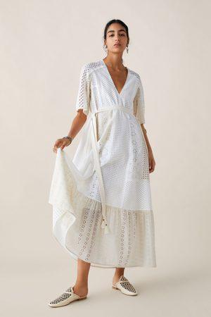 Zara Studio vestito ricami traforati edizione limitata