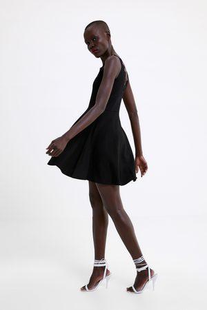 Zara Knit dress with lace trim