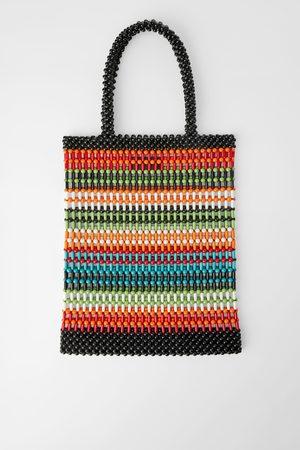 Zara Borsa shopper con piccole sfere colorate