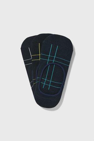 Zara Uomo Calze - Confezione di fantasmini a quadri