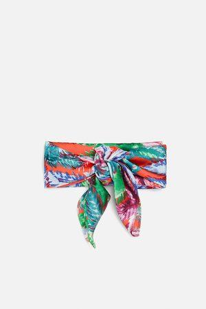 Zara Donna Sciarpe - Foulard stampato