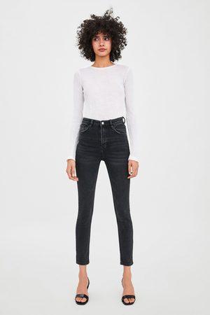 Jeggings Vintage Vita Alta Visualizza Tutto jeans donna saldi | Zara Italia from Zara on 21 Buttons