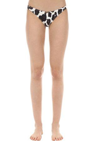 Solid Slip Bikini Stampa
