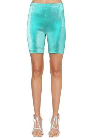AREA Shorts Biker Lamé